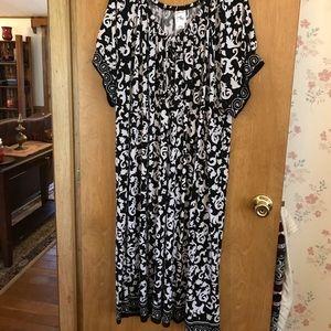 Size 26/28 or 4x Just My Size midi dress